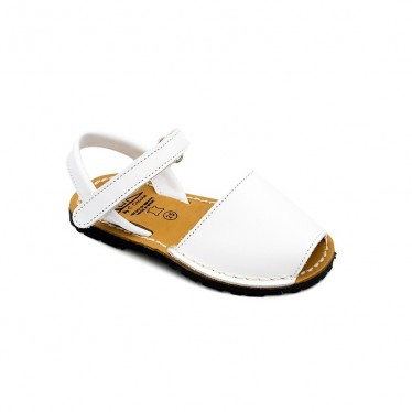 CHILDREN MENORCAN AVARCAS SEV207 WHITE