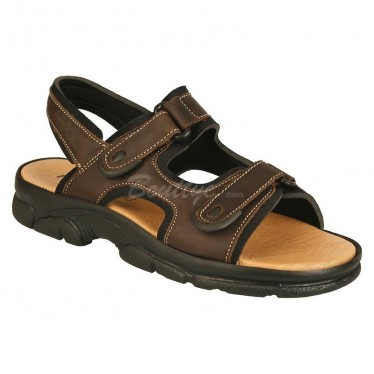 MAN MORXIVA SANDALS SEV7001 BROWN