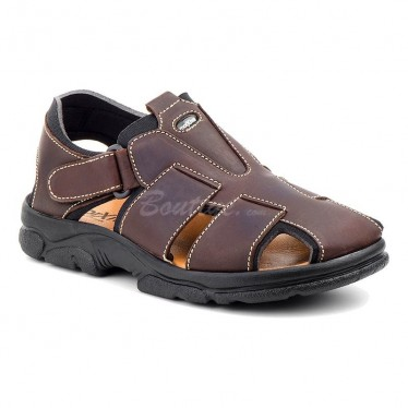 MAN MORXIVA SANDALS SEV7003 BROWN