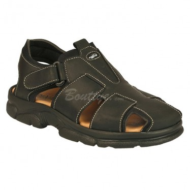 MAN MORXIVA SANDALS SEV7003 BLACK