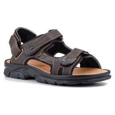 MAN MORXIVA SANDALS SEV7009 BROWN