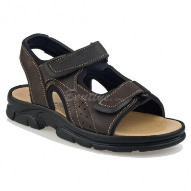 MAN MORXIVA SANDALS SEV7010 BROWN