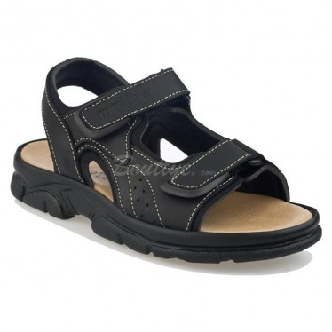 MAN MORXIVA SANDALS SEV7010 BLACK