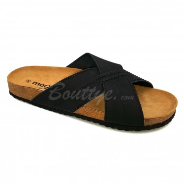 MAN MORXIVA SANDALS SEV8015 BLACK