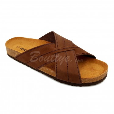 MAN MORXIVA SANDALS SEV8015 BROWN