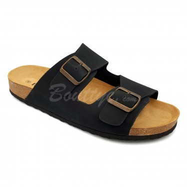 MAN MORXIVA SANDALS SEV8020 BLACK