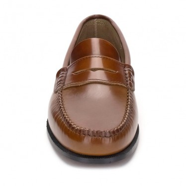 Man Beef Roll Leather Loafers Mask 300 Leather, by Marttely Classic