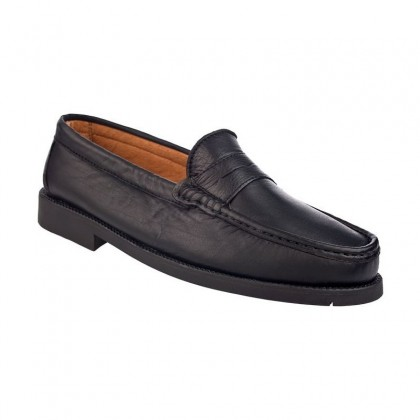 MAN LOAFERS SEV501 BLACK
