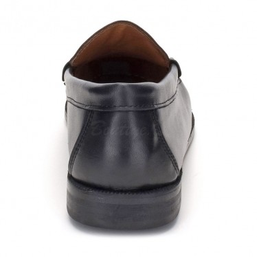 Man Beef Roll Soft Leather Loafers Mask Staff 500 Black, by Marttely Classic
