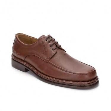 Zapatos Derby Hombre Piel 597 Brandy, de Comodo Sport