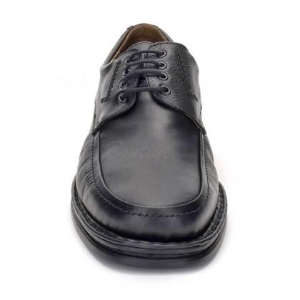 Zapatos Derby Hombre Piel 597 Negro, de Comodo Sport