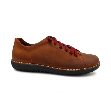 Woman Leather Sneakers 200 Leather, By Boleta Shoes