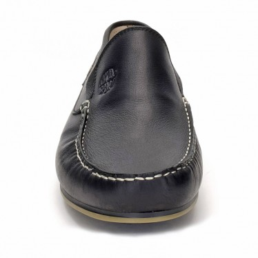 Mocasines Hombre Piel 416 Negro, de Comodo Sport