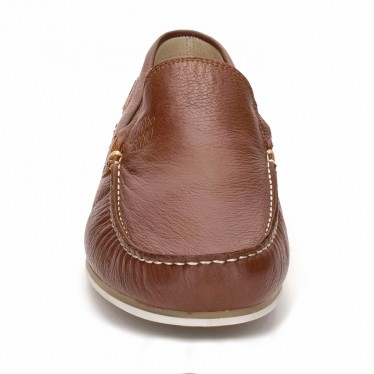Man Leather Boat Loafers 416 Leather, By Comodo Sport