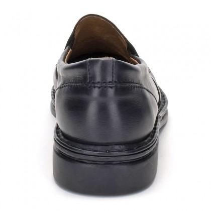 Mocasines Hombre Piel 602 Negro, de Comodo Sport