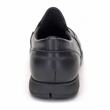 Mocasines Hombre Piel 074 Negro, de Comodo Sport