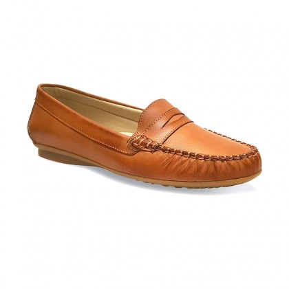 Women Soft Leather Loafers 903CA Leather, by Casual