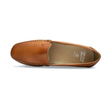 Women Soft Leather Wedged Loafers 903CA Leather, by Casual
