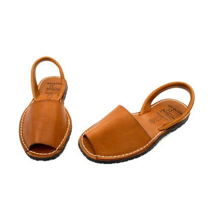 Woman Leather Menorcan Sandals Colour Insole 2010-S Leather, by C. Ortuño