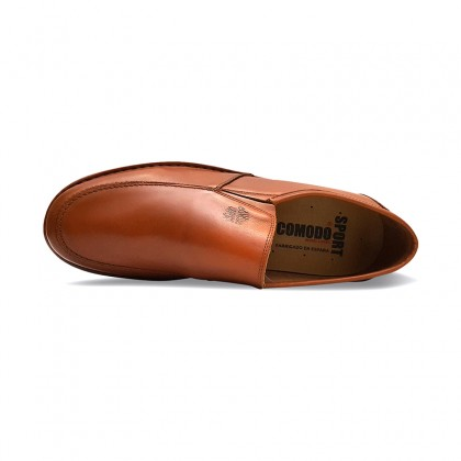 Man Leather Loafers 6076 Leather, By Comodo Sport