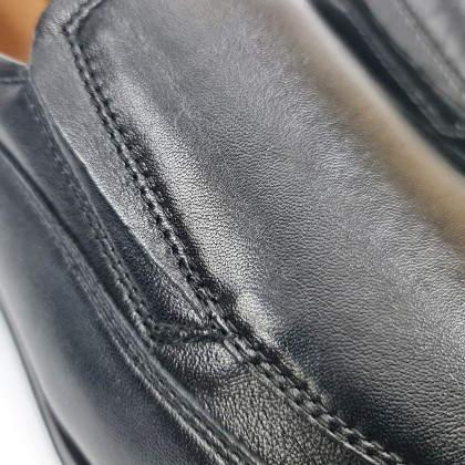 Man Nappa Leather Shoes Moccasin Like 1140 Black, by Urban Jungles