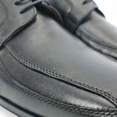 Zapatos Hombre Piel Napa Tipo Derby 1141 Negro, de Urban Jungles