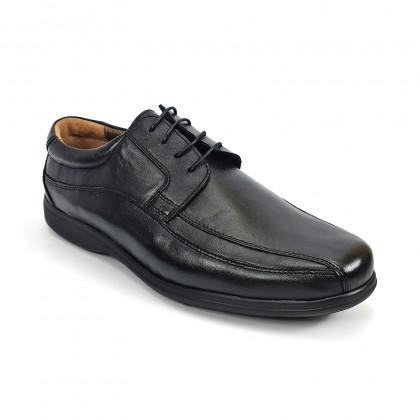 Zapatos Hombre Piel Napa Tipo Derby 1153 Negro, de Urban Jungles