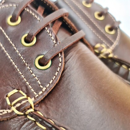 Man Pull Leather Boat Shoes Thick Sole Timberland Like 3000 Reddish, by Urban Jungles