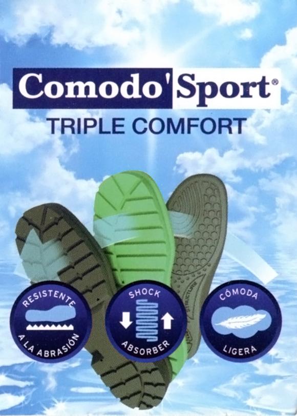 Etiqueta Comodo'Sport