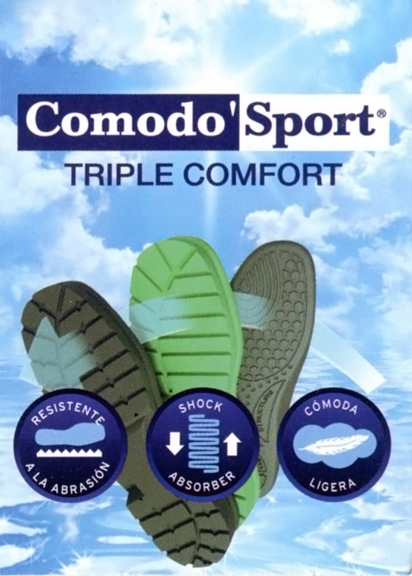Comodo Sport Detachable Comfort Insole